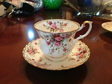 Royal Albert Cottage Garden Cup and Saucer Set