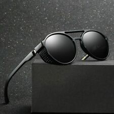 Retro Round Steampunk Sunglasses Vintage Men Goggles Sunglasses Steam Sunglasses