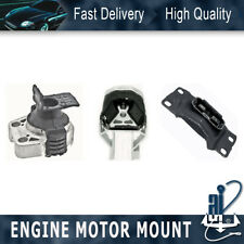 3PCS Anchor-Engine Auto Transmission Mount Kit For 2012 FORD FOCUS L4 2.0L