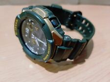 G-Shock GW-3500G Army Green-Gold Gravity Defier Pilot Sky Cockpit Solar Multibd6