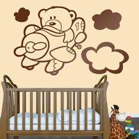 2 Cute Elephants Sweet Dreams Nursery Bedroom Wall Art Vinyl Decal Sticker V240