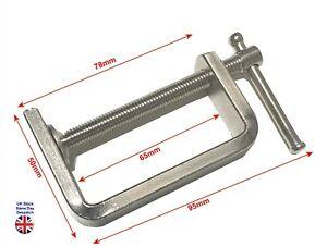 "2"" C-Clamp Heavy Duty Steel 45mm Jaw capacity Hobby DIY Carpentry Etc."