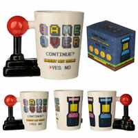 Retro Arcade Mug Game Over Cup Shaped Handle Hot Chocolate Drink Coffee Gift