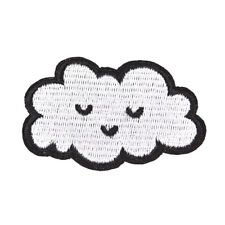 cloud patches for clothing iron on embroidered sew applique cute DIYaccessoriesH