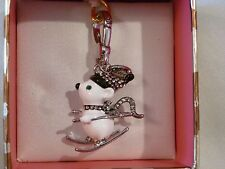 Juicy Couture Ski Mouse Charm - New in Box