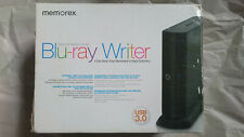 MEMOREX MRX-800LU_V2 External USB 3.0 Portable BLU-RAY 12x BD-R RE DL WRITER