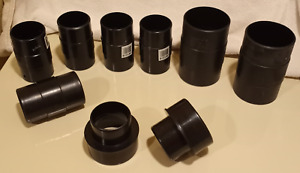 """Dust collection collector ductwork coupling connectors reducer vacuum 4"""" , 3"""""""