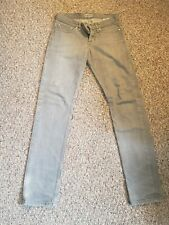 Naked and Famous Weird Guy Grey Tapered Denim Jeans