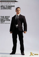 JXTOYS 1/6 Male Action Figure Suit Costume Clothes Set F Muscular Body Doll Toys