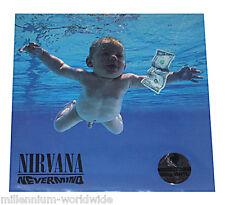 "NIRVANA - NEVERMIND - 12"" VINYL LP - SEALED & MINT 180 GRAM RECORD ALBUM 180g"