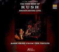 RUSH - THE VERY BEST OF RUSH BROADCASTING LIVE [CD]