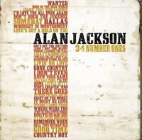 Alan Jackson - 34 Number Ones [CD]