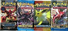 ① 4 Boosters Cards Pokemon New No Double in French (Lot N° Abb )