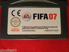 FIFA 07 GAME BOY ADVANCE FIFA FOOTBALL 07 GBA