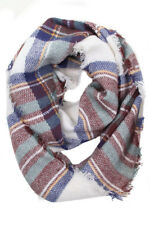 ScarvesMe Women's Soft Check and Plaid Soft Infinity Loop Winter Fall Warm Scarf