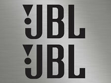 2 JBL Audio Stereo Car Vinyl Decals Stickers, Race, Surf Van, Door Stack, Window