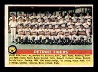 1956 Topps #213 Detroit Tigers TC EX+ X1575812