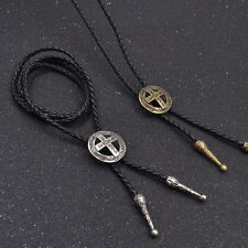 Mens Necklace Costume Jewelry Fancy Dress Cross Bolo Tie Necklace Cowboy