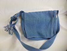 Denim Purse Bag Handmade Women Jean Cross Body Bag, Cartera de Blue Jean Vaquero