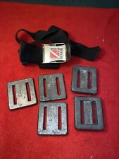 White Stag Deep weights 7 pounds and belt for diving