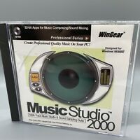 WinGear MusicStudio 2000 PC Software CD Vintage