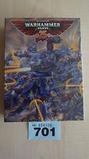 WH40K LIMITED EDITION SPACE MARINE CAPTAIN WH40K 25TH ANNIVERSARY NISB OOP #701