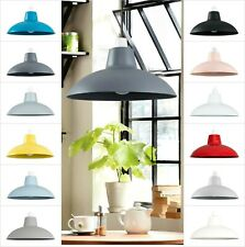 Metal Pendant Lights Shade Ceiling Lampshade Industrial Bedroom Kitchen Lamp
