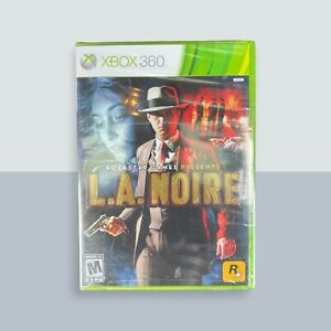 L.A. Noire (Microsoft Xbox 360, 2011) NEW SEALED