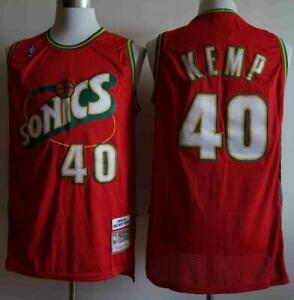 SONICS Shawn Kemp #40 Jersey
