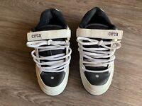 Circa CX205 Skate Shoes Mens 8.0 Black White RARE