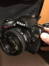 Nikon D70 Fotokamera mit Nikon AF Nikkor 50mm 1:1.4 D Objektiv