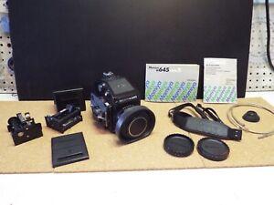 Mamiya 645 1000s medium format film camera kit