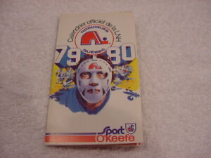 VINTAGE 1979-80 Quebec Nordiques Sport O'Keefe Pocket Schedule, VERY NICE!