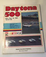 Vintage Daytona 500 Collectors book. Feb. 1984. NASCAR. Racing Program Original