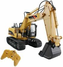 Fisca Remote Control Excavator Rc Construction Channel 2 4g Full Vehicles 15 kid