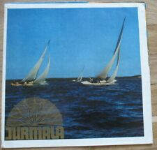Russian Advertising Booklet Soviet Jurmala Baltic Intourist Black Sea Old