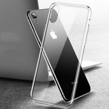 Square Mirror Case Tempered Glass Back Hybrid Cover For iPhone XS Max XR X 8 7 6