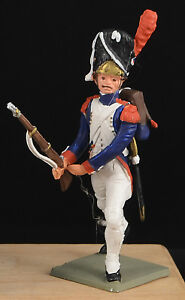 Super Starlux L'Empire - Napoleonic Grenadier Advancing - 65mm painted soldier