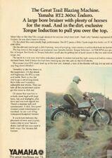 1972 Yamaha RT2 360 Enduro - Great Trail Blazing Machine Vintage Motorcycle Ad