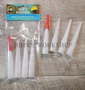 Caulk and Sealant Tube Replacement Nozzle 'Variety Bundle'