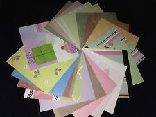 """Cardmaking CLEAROUT - 20 hojas de papel del forro mixto de 6"""" X 6"""""""