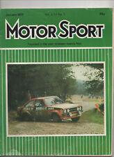 MOTOR SPORT JANUARY 1977