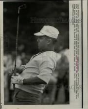1966 Press Photo Homero Blancas during Seattle-Everrett Golf Open in Washington