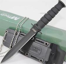 MTech Specail Issue Mini Kabai Double Edged Dagger Combat Survival Neck Knife B
