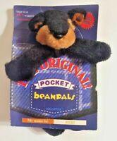 Vintage Kellytoy The Original Pocket Beanpals Rocky the dog plush toy bean pals