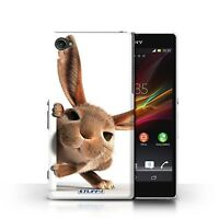 STUFF4 Phone Case for Sony Xperia Z Smartphone/Funny Animals/Protective Cover