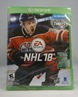 NHL 18 (Microsoft Xbox One, 2017)