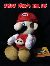 "Nintendo Super Mario 6"" Plush San-ei - Mushroom Mario"