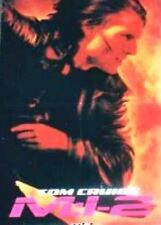 POSTER - MISSION IMPOSSIBLE 2 - TOM CRUISE & THE STRAIGHT STORY - DOUBLE SIDED