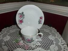 TEA CUP AND SAUCER ROSES DARLING MADE IN JAPAN CHINA! SWEET